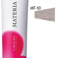 Краска MT-10 Lebel Cosmetics Materia для волос яркий блондин металлик 80гр, Лебел