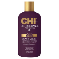 CHI Deep Brilliance Olive & Monoi Neutralizing Shampoo Очищающий шампунь 355 мл
