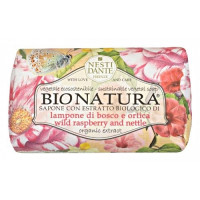 Nesti Dante Bionatura Wild Raspberry and Nettle мыло малина и крапива 250 гр