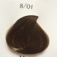 KYDRA CREME 8/01 LIGHT NATURAL ASH BLONDE Blond Clair Naturel Cendre, 60 мл