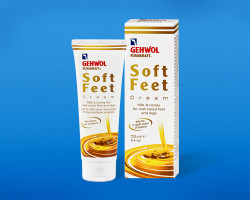 Gehwol Soft Feet Cream Шелковый крем молоко и мед с гиалуроновой кислотой 125 мл
