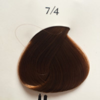 Краска Kydra cream № 7.4 Copper Blonde Cuivre 7/4, 60 мл