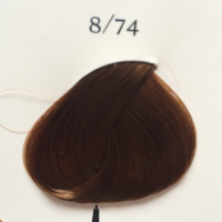 Краска для волос Kydra 8.74 Blond Clair Marron Cuivre light Copper chestnut blonde 8/74, 60 мл